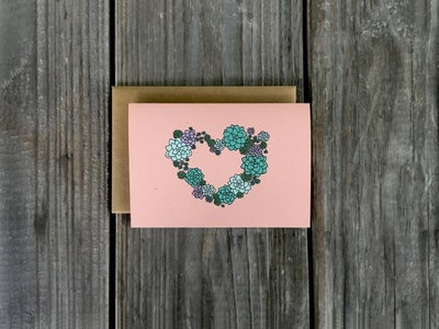 Succulent Notecard Set