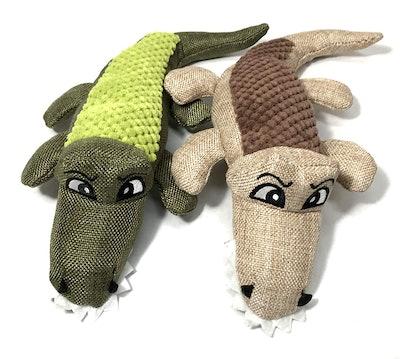 Sancho & Lola's Closet Plush Dog Toys with Squeaker