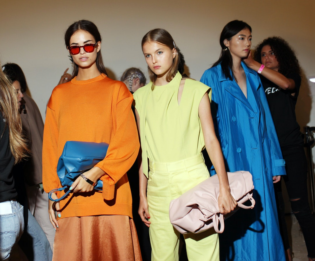 Spring 2019 S Biggest Color Trends Are Very Very Bright