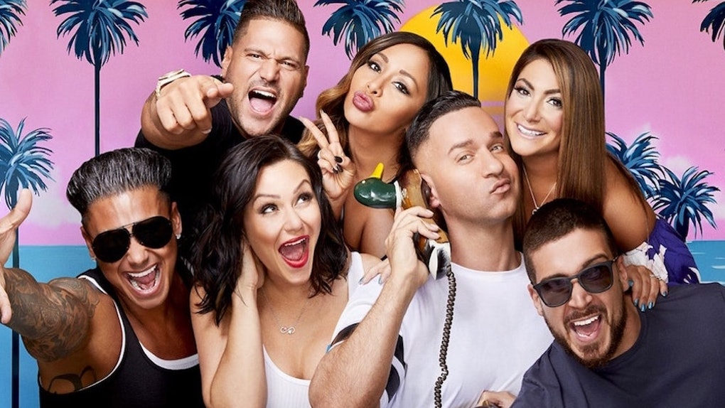 0de0a8431e43 These  Jersey Shore  Group Costume Ideas Will Leave You Fist Pumping All  Halloween