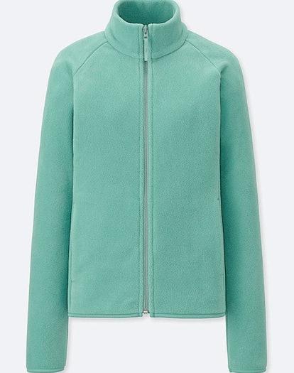 Women's Fleece Long-Sleeve Full-Zip Jacket