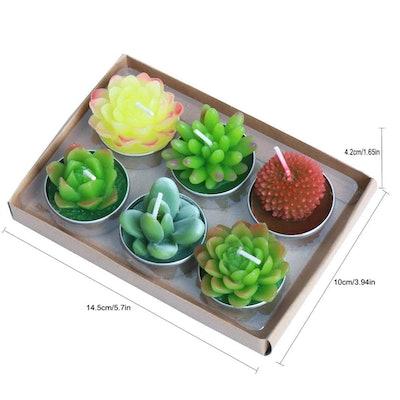 AI·X·IANG Cactus Tealight Candles