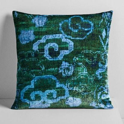 Lush Velvet Chinoiserie Pillow Cover