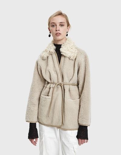 Rachel Comey Herald Lambskin Coat