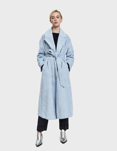 Ganni Woodside Robe Coat