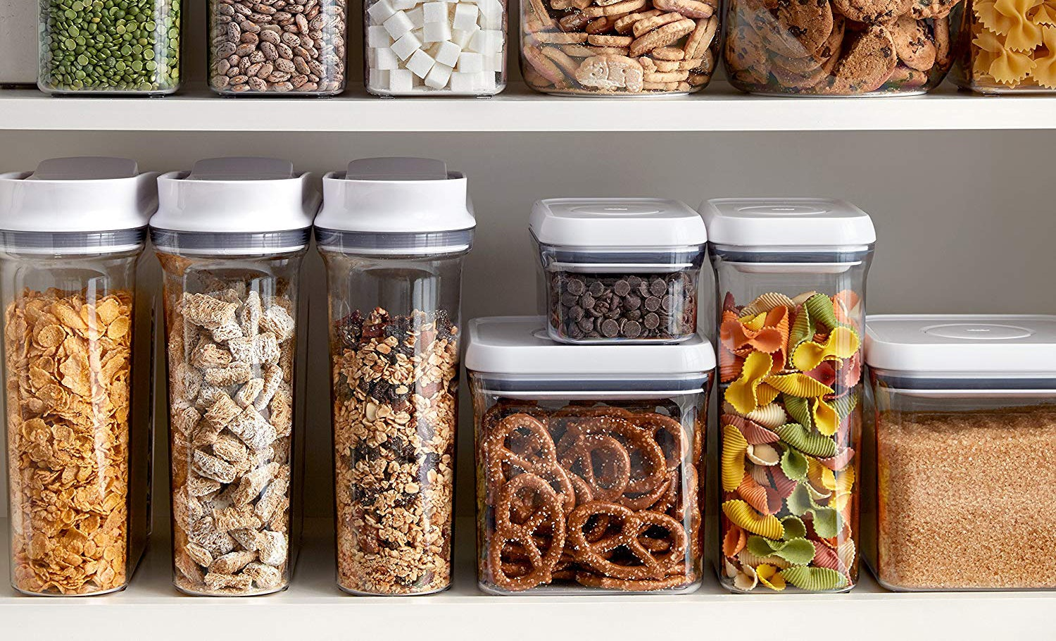 dry food storage containers