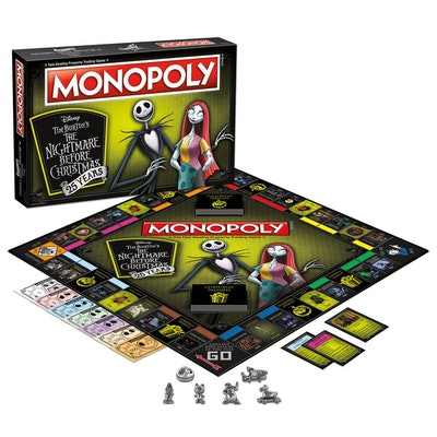 The Nightmare Before Christmas 25th Anniversary Monopoly Game