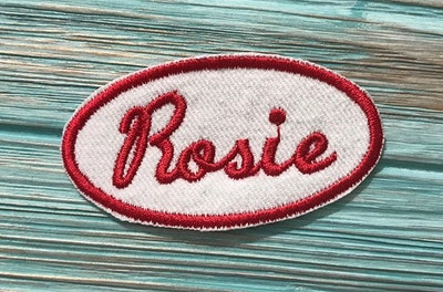 Rosie The Riveter - Name Patch