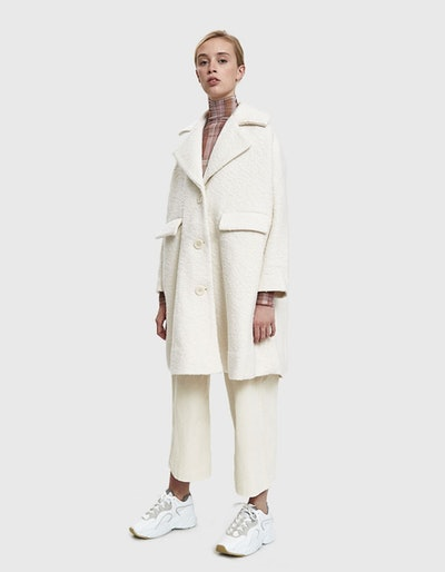 Ganni Fenn Oversized Coat