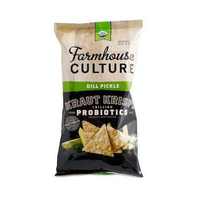 Farmhouse Culture Dill Pickle Probiotic Kraut Krisps