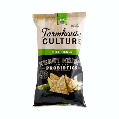 Farmhouse Culture Dill Pickle Probiotic Kraut Krisps