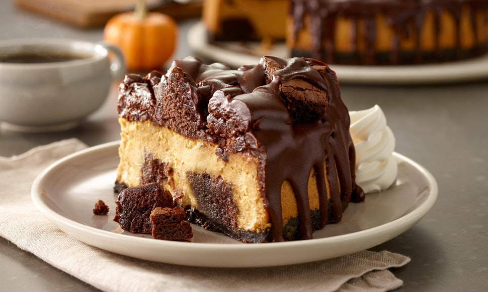 Image result for olive garden pumpkin cheesecake