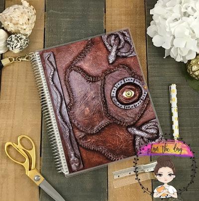 Hocus Pocus Spell Book Planner Cover