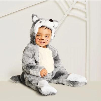 Baby Plush Wolf
