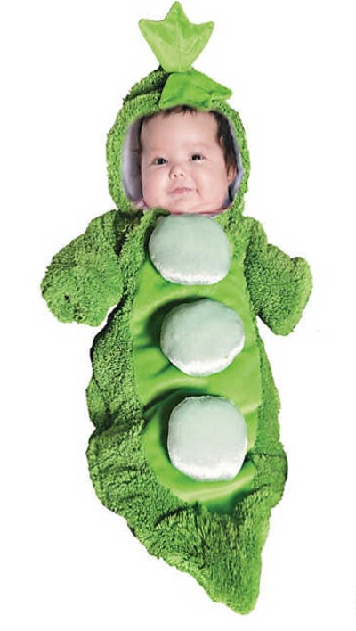 Baby Pea In A Pod Bunting Costume