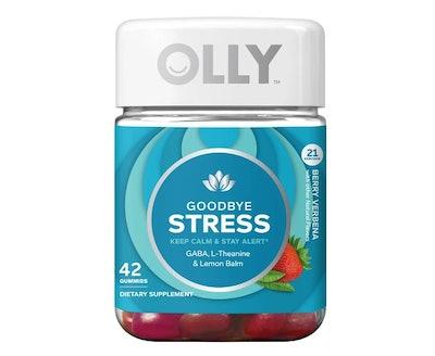Olly Goodbye Stress Dietary Supplement Gummies