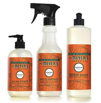 Mrs. Meyers Clean Day Pumpkin Kitchen Basics Set