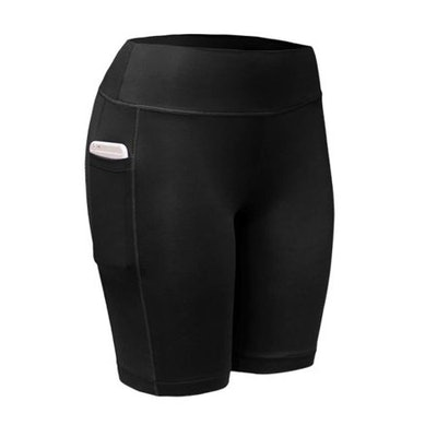 SunshineLLC Women's Compression Quick Dry Elastic Shorts with Pocket