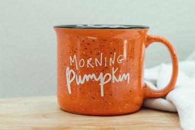 Hello Pumpkin Campfire Mug,