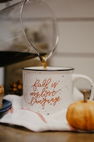 Fall Is My Love Language Mug