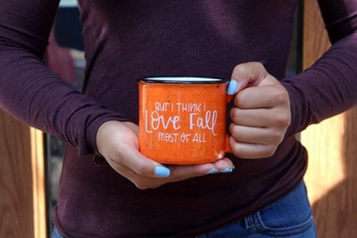 But I Think I Love Fall Most Of All Mug