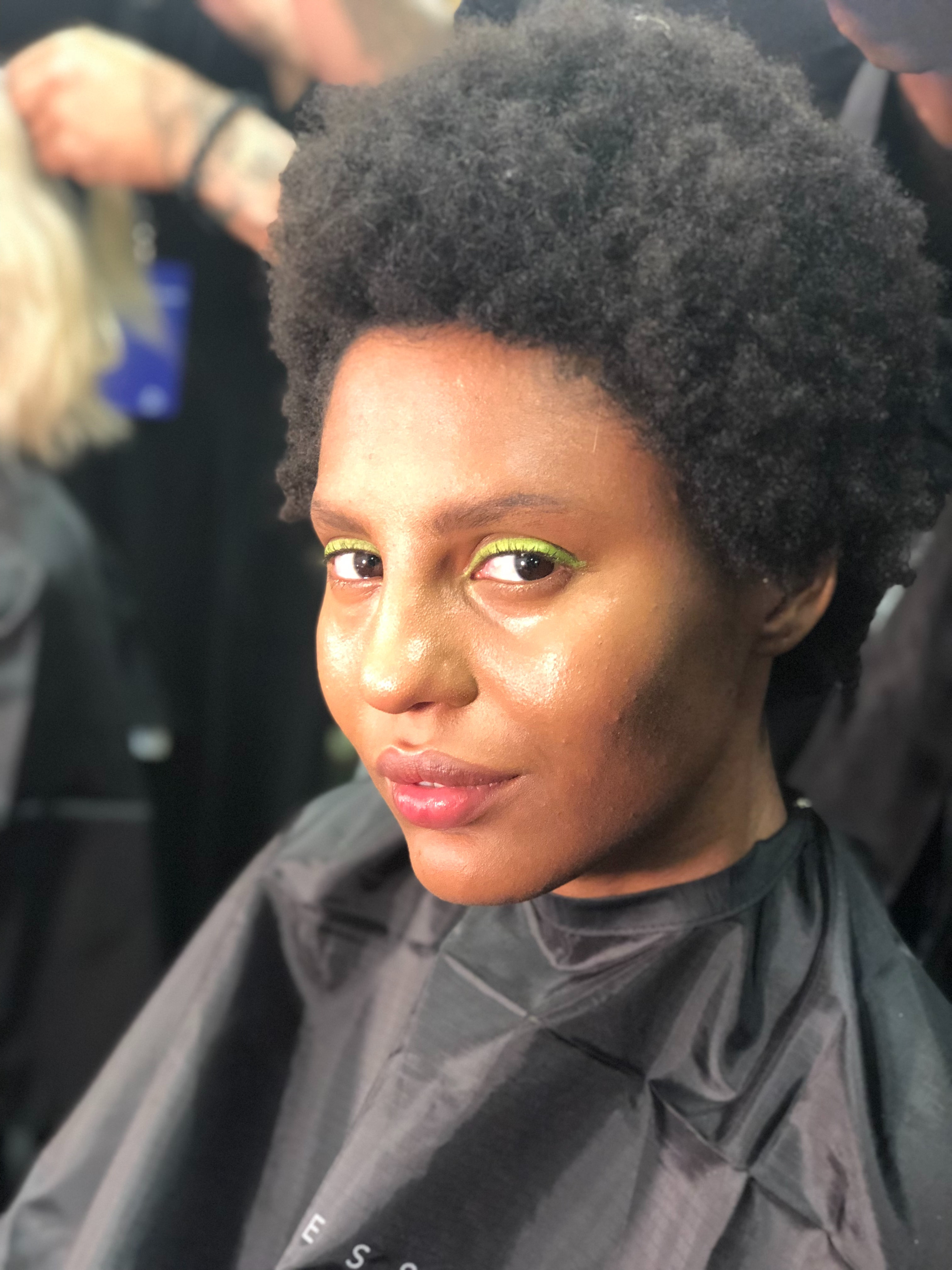 8 Natural Hairstyles To Try From New York Fashion Week