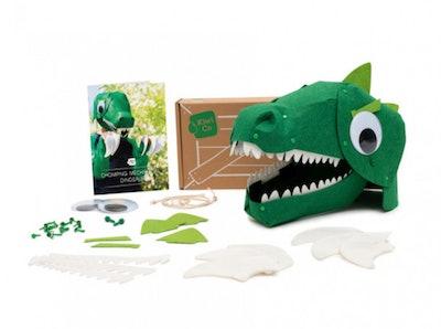 Chomping Mechanical Dinosaur Costume