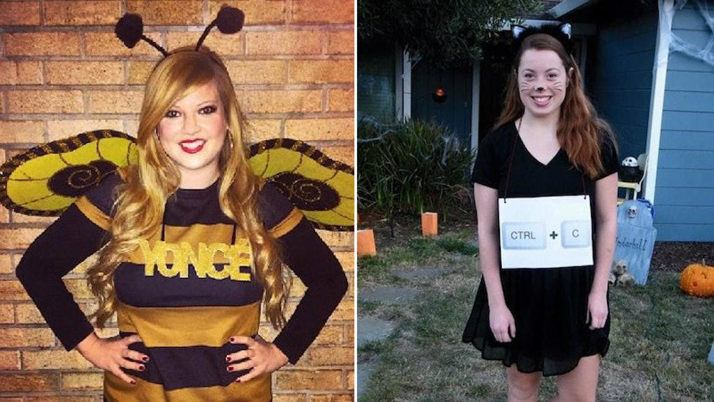 dcd8c9b366dcc 10 Clever Halloween 2018 Costumes For College Students That Are So, So Punny