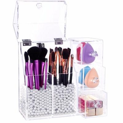 Lifewit Acrylic Makeup Organizer