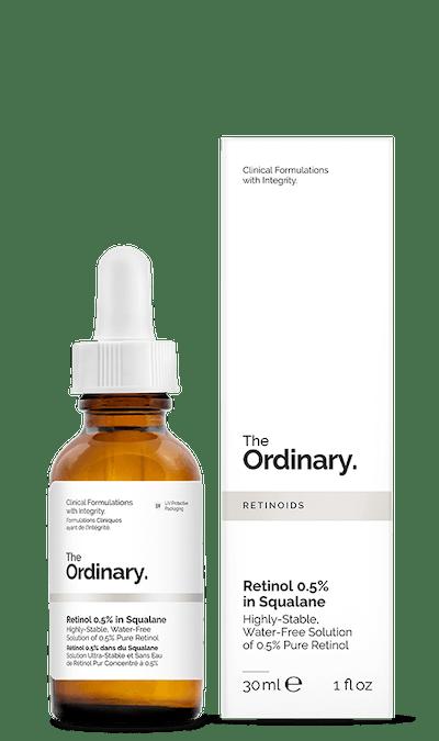 The Ordinary Retinol 0.5% in Sqaulane