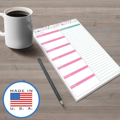 321Done Meal Planning Pad
