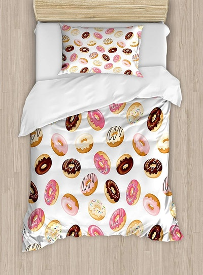 Sweet Tasty Donuts Art Print Bed Set
