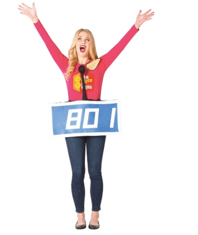 Adult Blue The Price Is Right Contestant Costume