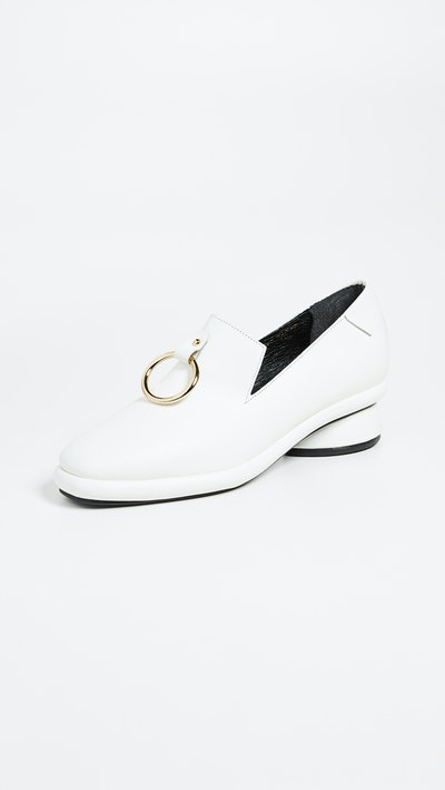 Gold Ring Loafers