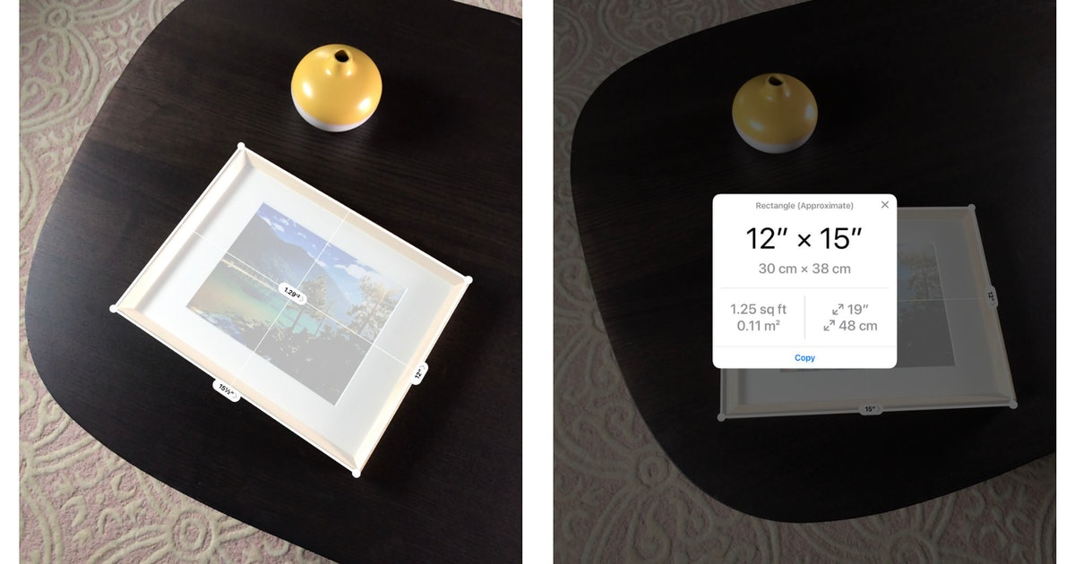 What Is The Measure App On iOS 12? Here's What You Can Use It For