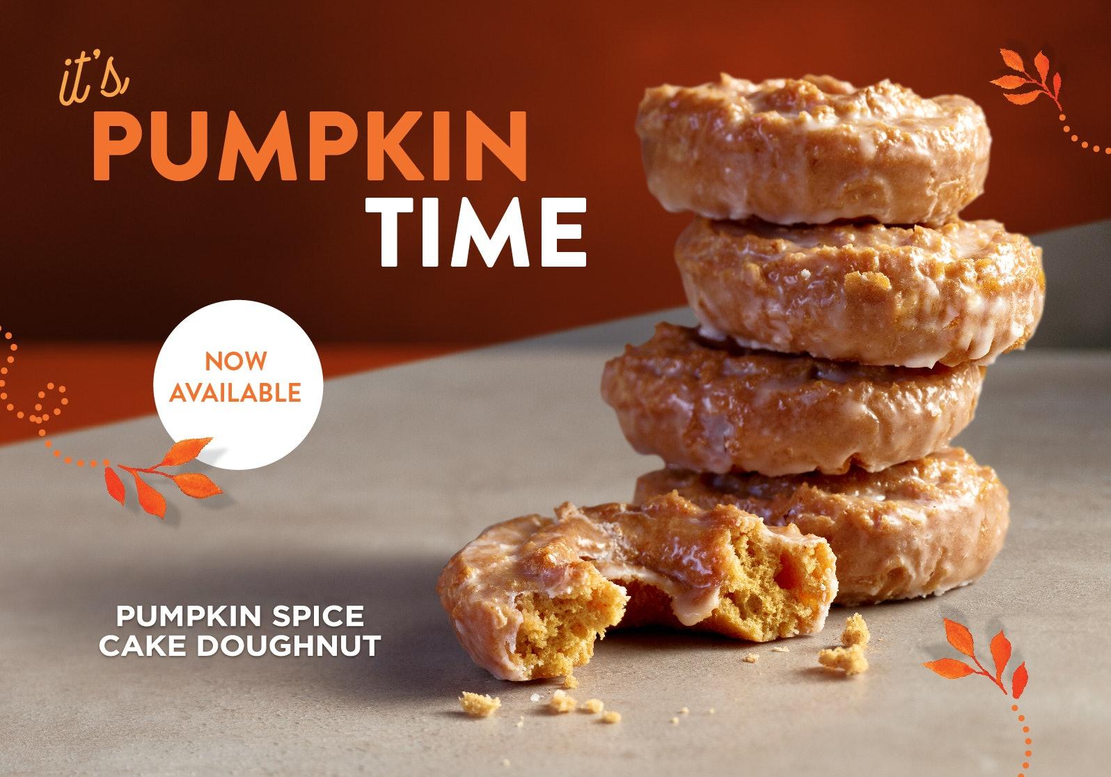 Krispy Kreme Is Making Pumpkin Spice Donuts A Hot Commodity