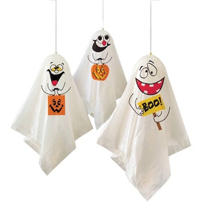 Ghost Halloween Hanging Decorations, 35-inch, 3-count