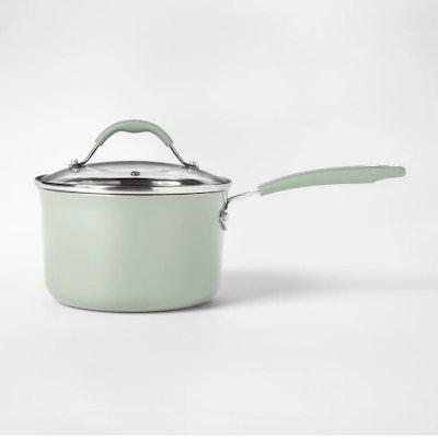 Aluminum Saucepan With Lid