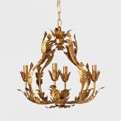 Opalhouse Tole Chandelier Italian Gold