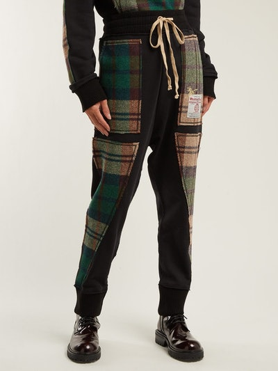 X Harris Tweed Organic Cotton Track Pants