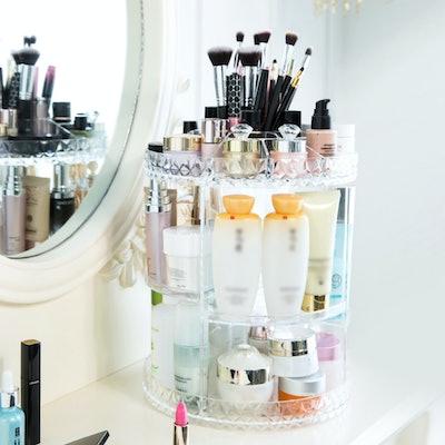 Fosa 360-Degree Rotating Makeup Organizer