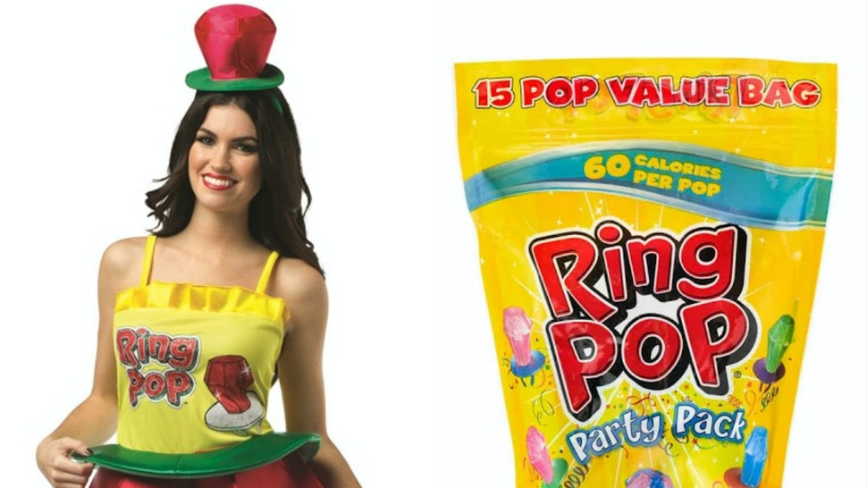 55c7b98ec538 9 Punny '90s Snack Halloween Costume Ideas For You & Your Squad