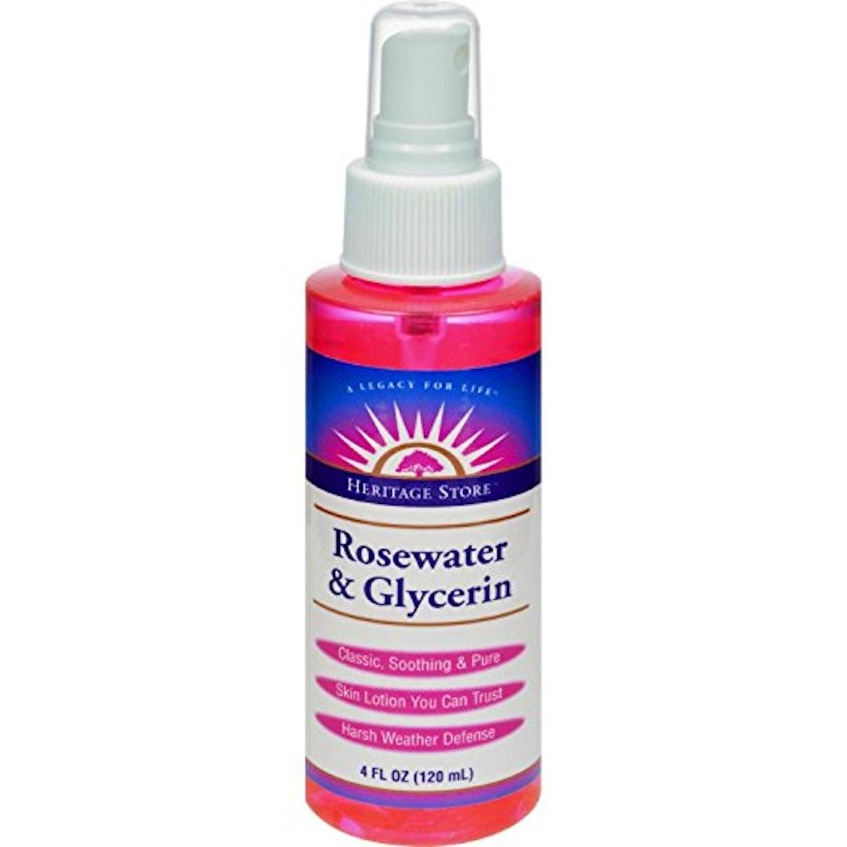 Heritage Rosewater & Glycerin