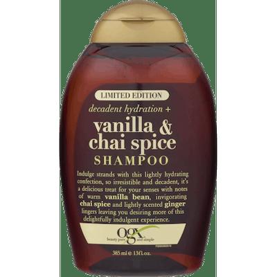 OGX Decadent Hydration Vanilla & Chai Spice Shampoo