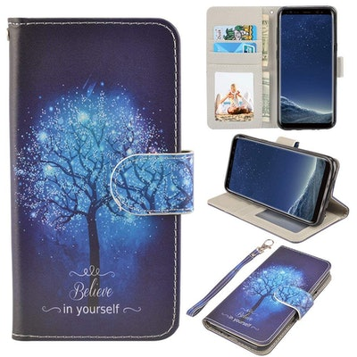 Galaxy Tree Phone And Wallet Case