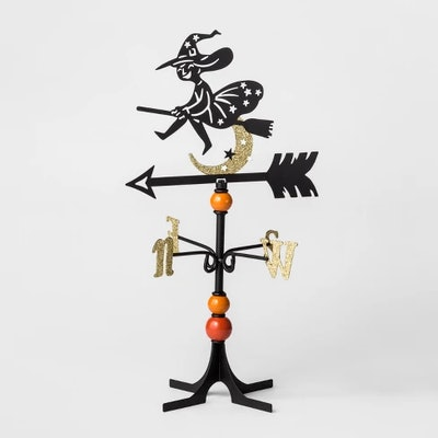 Halloween Metal Witch Weather Vane - Hyde and Eek! Boutique