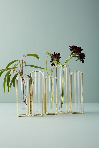 Anthropologie Staggered Vase