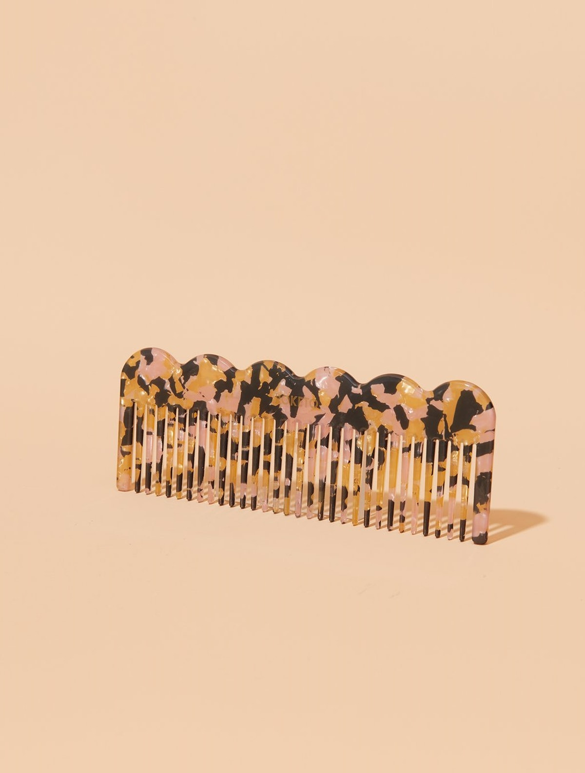 Poketo Pink Multi Wave Comb