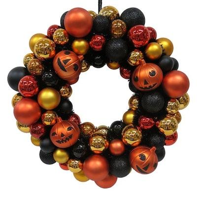 Halloween Shatterproof Wreath - Hyde and Eek! Boutique