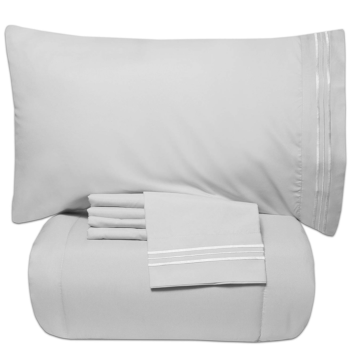 Sweet Home Collection Bedding Set (4 Piece)